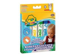 Crayola MINI KIDS Erste Filzstifte 8 Stueck