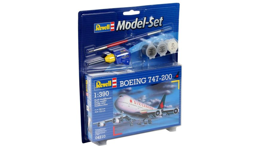 Revell 64210 Model Set Boeing 747