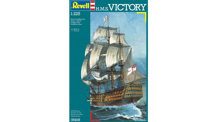 Revell 05408 H M S Victory