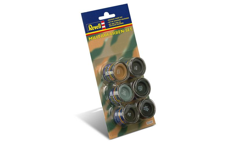Revell 32340 Militaerfarben Set 6x14ml Farben