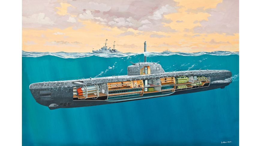 Revell Submarine Typ XXI U 2540