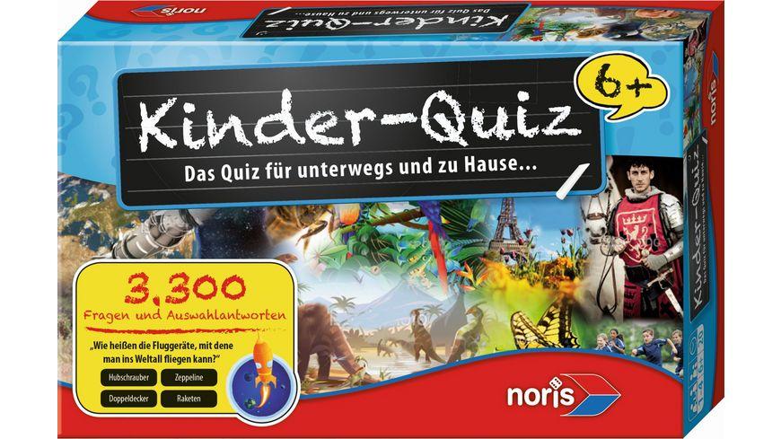 236cb97ebc8ae4 Noris Spiele - Kinder-Quiz für schlaue Kids ab 6 Jahren online ...