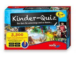 Noris Spiele Kinder Quiz fuer schlaue Kids ab 6 Jahren