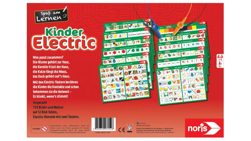 Noris Spiele Kinder Electric