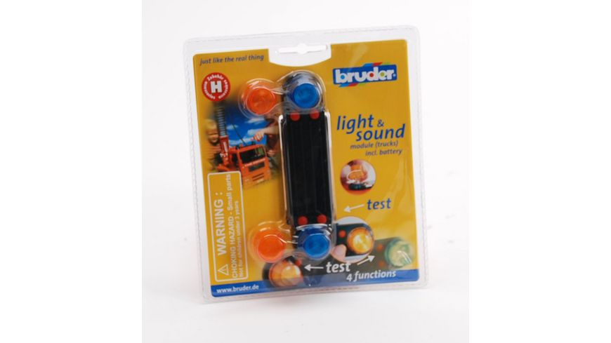 BRUDER Light Sound Modul 02801