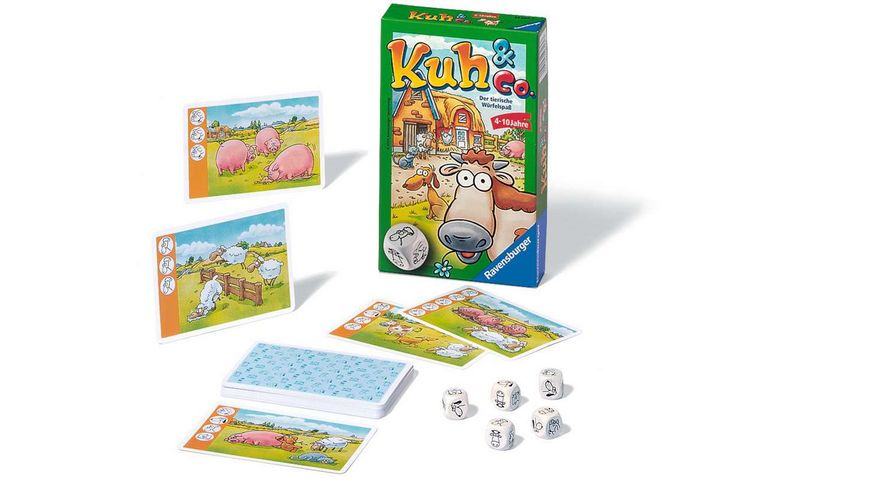 Ravensburger Spiel Mitbringspiel Kuh Co