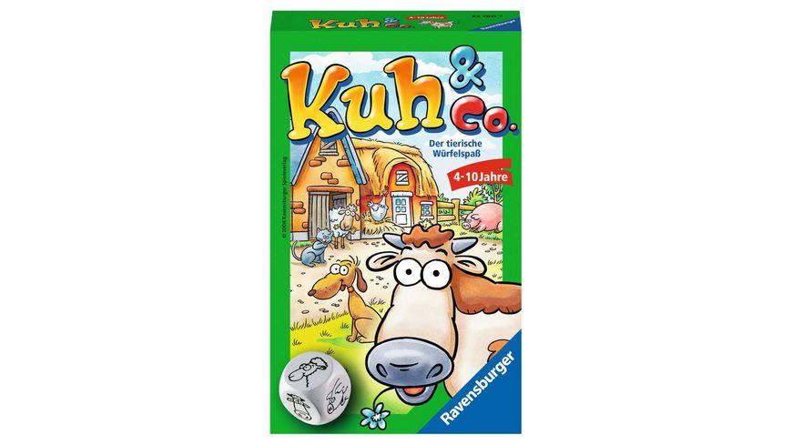 Ravensburger Spiel Mitbringspiel Kuh und Co