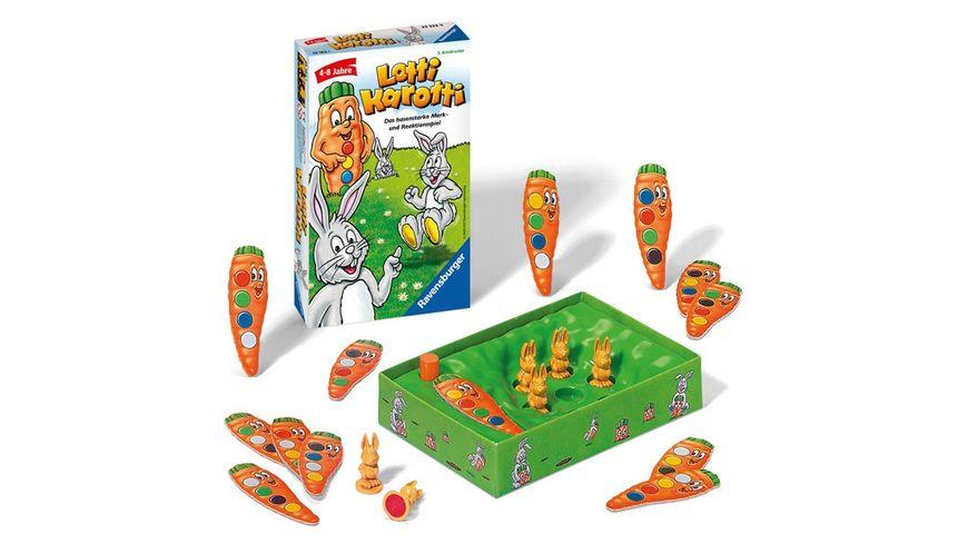 Ravensburger Spiel Mitbringspiel Lotti Karotti