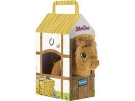Heunec BIBI TINA Pferd Amadeus stehend im Stall 17 cm