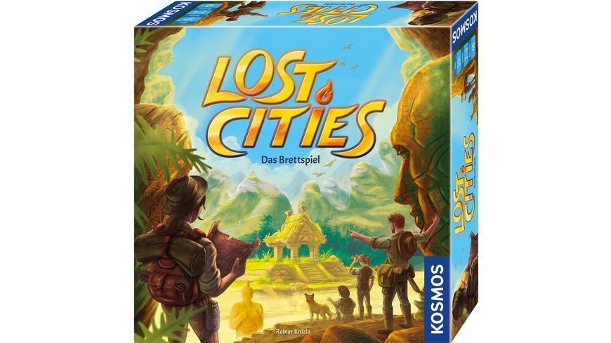 KOSMOS - Lost Cities - Das Brettspiel