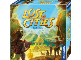 KOSMOS Lost Cities Das Brettspiel