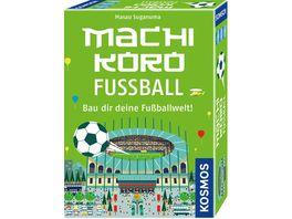 KOSMOS Machi Koro Fussball Bau dir deine Fussballwelt