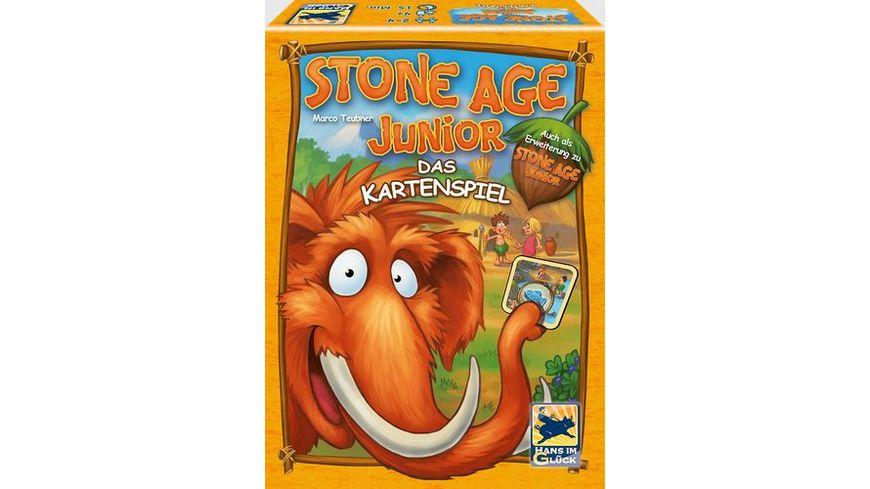 Schmidt Spiele Kinderspiele Stone Age Junior Kartenspiel
