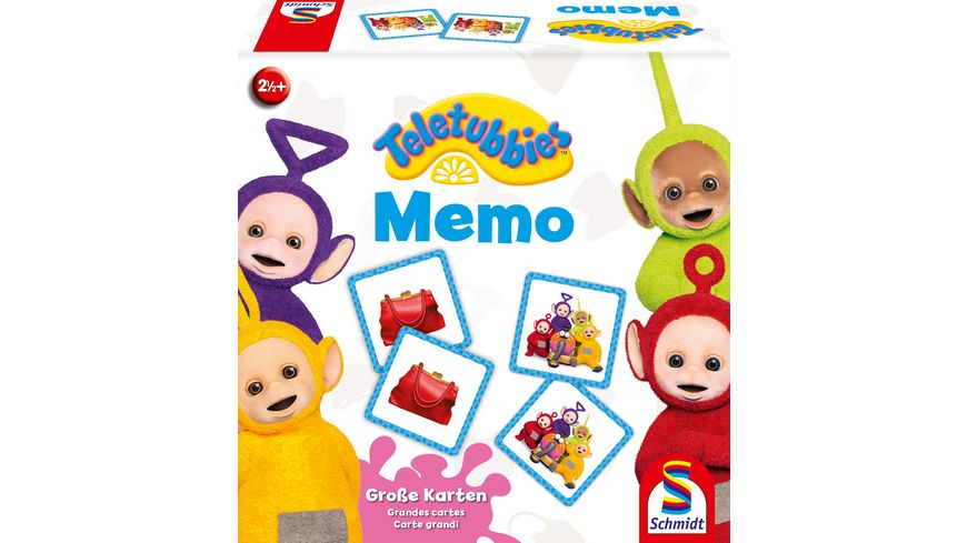 Schmidt Spiele Kinderspiele Memo Teletubbies