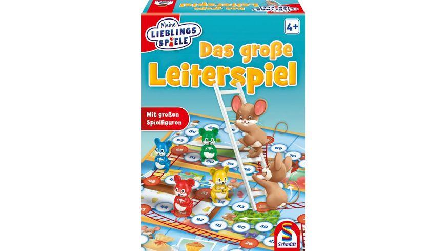 Schmidt Spiele Kinderspiele Das grosse Leiterspiel Meine Lieblingsspiele