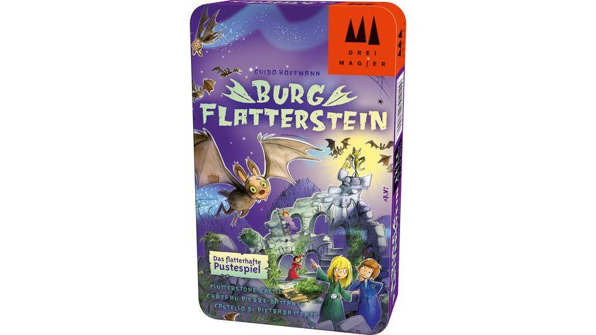 Drei Magier Spiele Kinderspiel Burg Flatterstein
