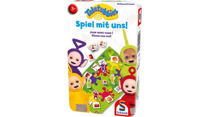 Schmidt Spiele Reisespiele Spiel mit uns Teletubbies