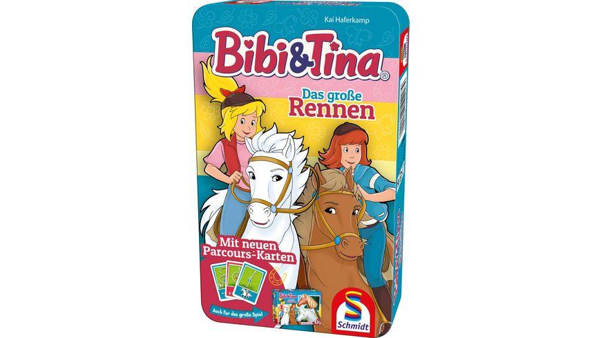 Schmidt Spiele Reisespiele Das grosse Rennen Bibi Tina