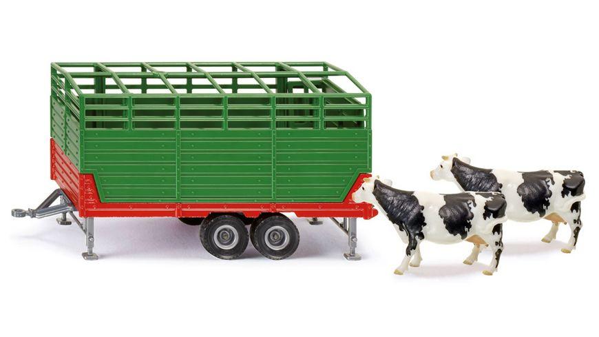 SIKU 2875 Farmer Viehanhaenger
