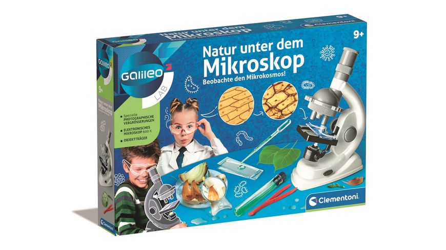 Mikroskop Experimentierkasten NEU Spielware