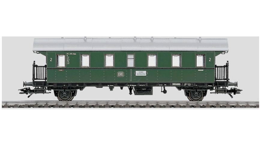 Maerklin 4314 H0 Personenwagen Donnerbuechse Einheitswagen 2 Klasse DB