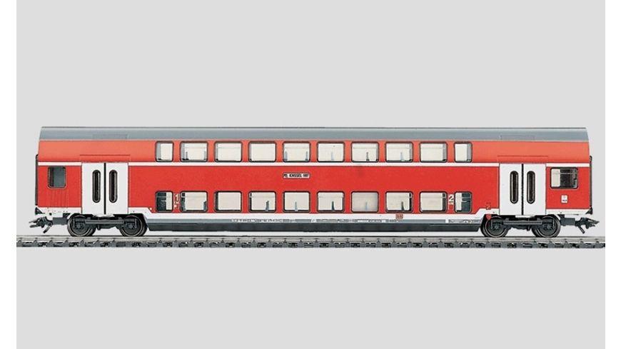Maerklin H0 Doppelstockwagen 1 2 Klasse rot DB AG