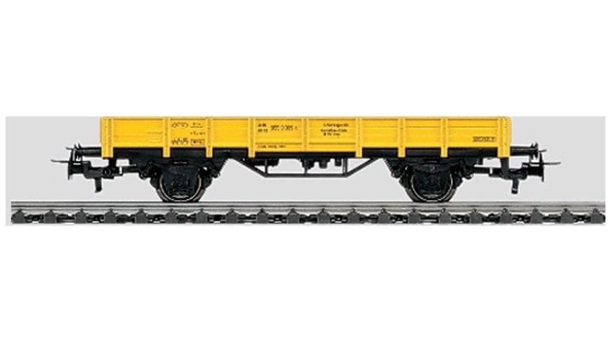 Märklin 4471 Start up - Niederbordwagen gelb 2 achsig DB
