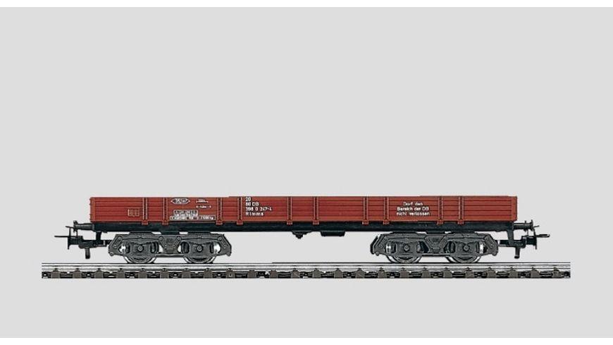 Maerklin 4473 Start up Niederbordwagen rot 4 achsig DB