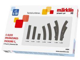 Maerklin 24904 Start up C Gleis Ergaenzungspackung C 4