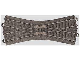 Maerklin 24640 H0 C Gleis Kreuzung 188 3 mm 24 3