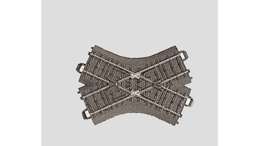 Maerklin 24649 H0 C Gleis Kreuzung 103 3 mm 48 6