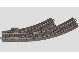 Maerklin 24671 H0 C Gleis Bogenweiche links R1 360 mm 30 nachruestbar