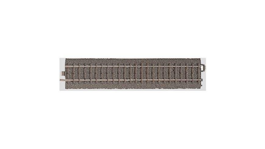 sehr gut lang 1//1 Märklin 5106 M-Gleis  10 Stück gerade Metall Gleise  180 mm