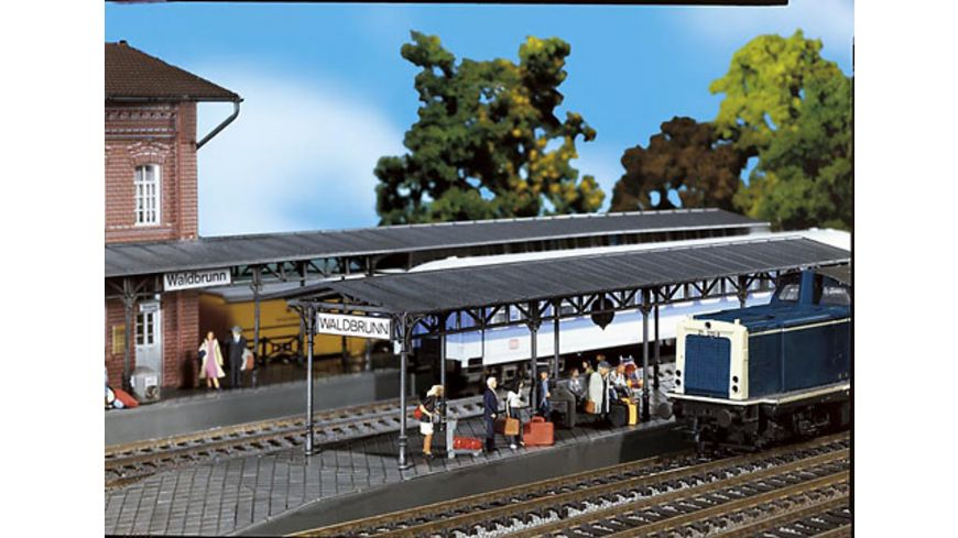 Faller 120204 H0 Bahnsteige passend zum Bahnhof Waldbrunn 1100992