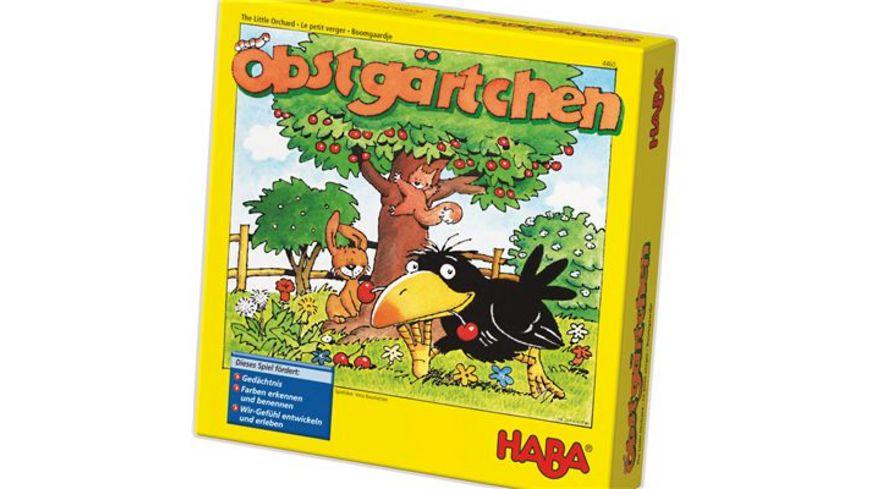 HABA Mitbringspiel M Obstgaertchen