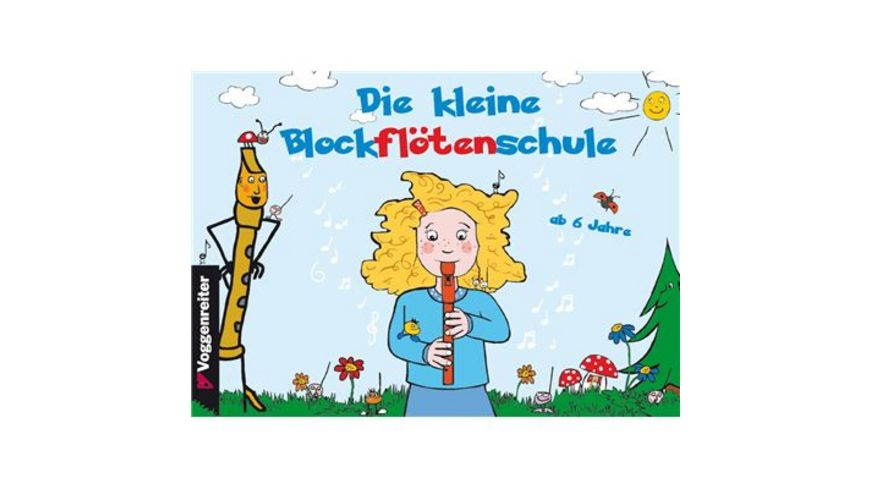 Voggenreiter Das bunte Blockfloeten Set barocke Griffweise fuer Kinder ab 6 Jahre