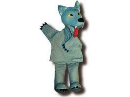 Trullala Wolf Handpuppe 40 cm
