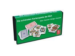 ASS Altenburger Spielkartenkassette Romme und Skat