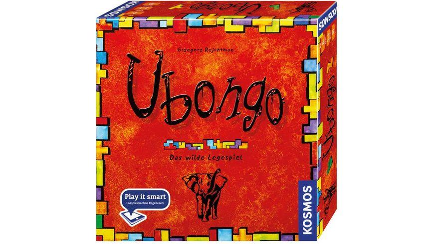 KOSMOS - Ubongo - Neue Edition - Das wilde Legespiel