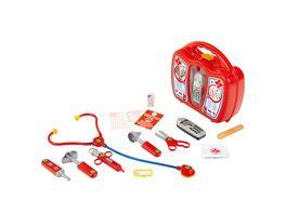 Theo Klein 4350 Arztkoffer mit Handy Robuster Koffer mit Stethoskop Spritze und vielem mehr Mit batteriebetriebenem Handy mit Sound Masse 27 cm x 24 cm x 10 cm Spielzeug fuer Kinder ab 3 Jahren