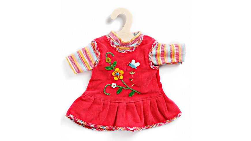 Heless Peppiges Kleid mit T Shirt Gr 35 45 cm