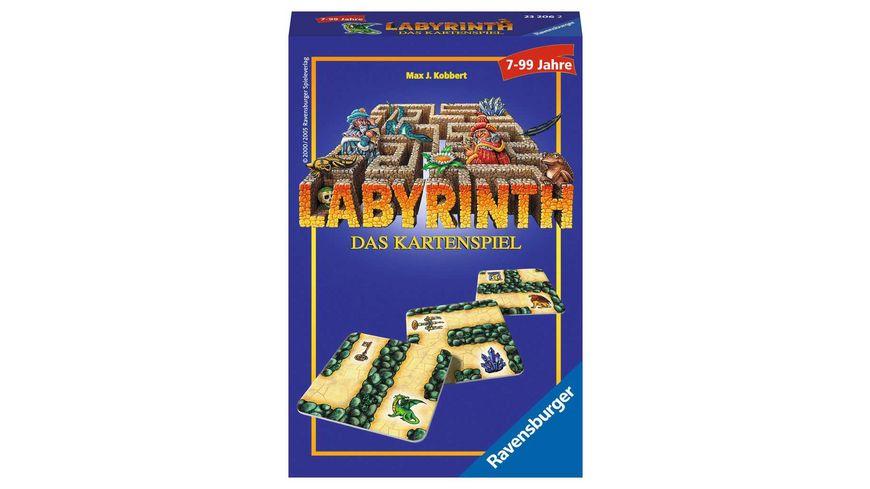 Ravensburger Spiel Mitbringspiel Labyrinth Das Kartenspiel