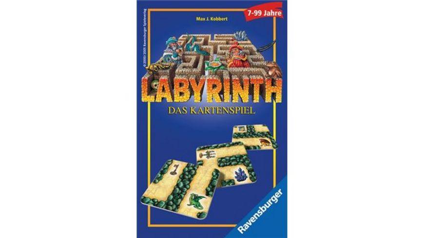 Ravensburger Spiel Labyrinth Das Kartenspiel