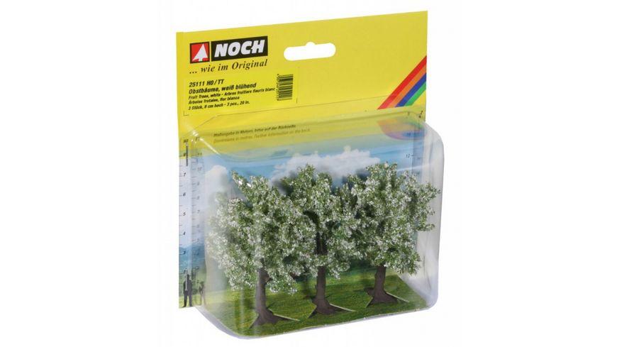NOCH 25111 H0 - Obstbäume, weiß blühend