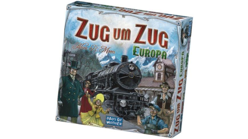 Days of Wonder Zug um Zug Europa