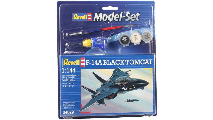 Revell 64029 Model Set F 14A Tomcat Black Tomcat