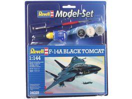 Revell Model Set F 14A Tomcat Black Tomcat