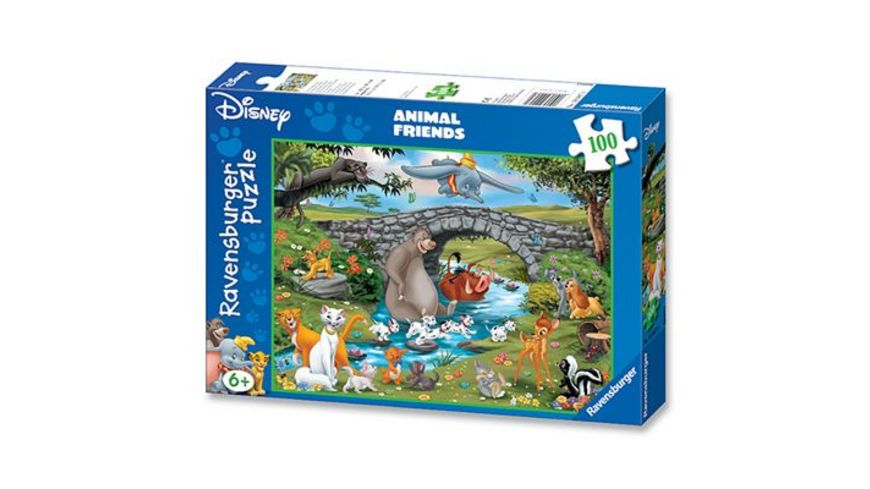 Ravensburger Puzzle Die Familie der Animal Friends 100 Teile