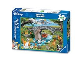 Ravensburger Puzzle Die Familie der Animal Friends 100 Teile