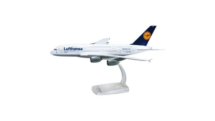 Herpa 607032 Wings Lufthansa Airbus A380 800